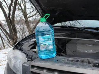 Для чего нужна незамерзайка в машине зимой?