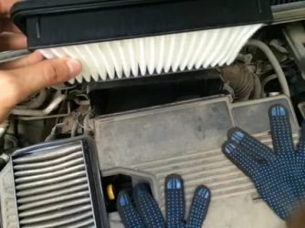Suzuki sx4 замена воздушного фильтра