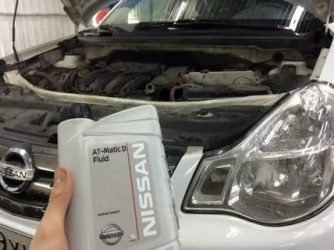 Nissan almera g15 замена масла в АКПП